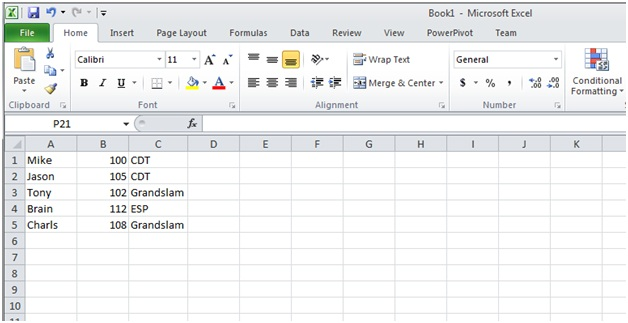 can you export a pdf into excel